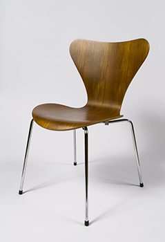 The Series 7 by Arne Jacobsen